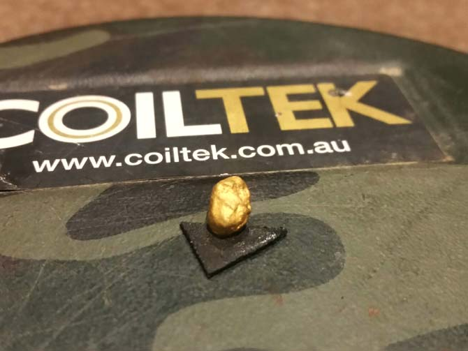 Gold Detecting Blog Post - My Kind of Easter Egg